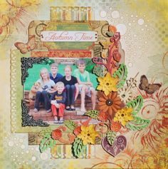 Count your blessings by Denise van Deventer - Scrapbook.com BB Autumn Song http://bobunny.blogspot.com/2013/11/give-thanks-layouts.html