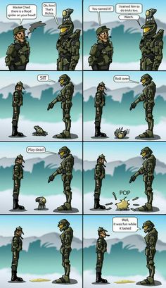Halo sketch number two Video Game Logic, Video Games Funny, Funny Games, Funny Gaming Memes, Stupid Funny Memes, Hilarious, Best Funny Pictures, Funny Photos, Halo Funny