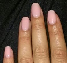"Opi gelcolor ""I Theodora You"". A pretty pale pink for my last manicure."