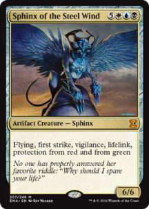 Sphinx of the Steel Wind - Eternal Masters Spoiler