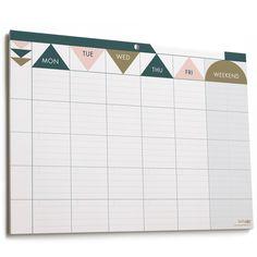 Weekly Planner Pad : Matt Gold