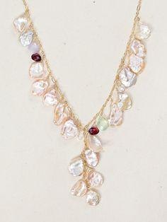 Holly Yashi Necklace Margo Keshi Pearls #HollyYashi