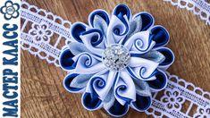 Flowers Kanzashi petals Twisted ✄ Anastasia Kulikova