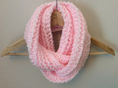 Infinity scarf - Circle scarf - Cowl - Snood - Pink scarf - Women's infinity scarf - Knitted scarf - Eternity scarf by TheScarfRoom on Etsy