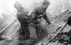 WW1  panic in the trenches