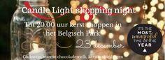 Candle light shopping night in Scheveningen. Mis het niet! 23 dec. a.s.