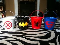 Super Hero Buckets