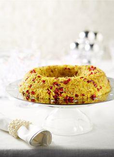 Ένα γιορτινό πιλάφια που θα συνοδεύσει άψογα τα κρεατικά που θα επιλέξετε για τα γιορτινά τραπέζια σας
