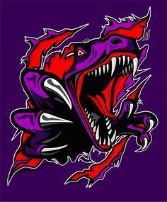 Ju Jitsu, Dope Cartoon Art, Colors And Emotions, Game Logo Design, Basketball Art, Dinosaur Art, Chicano Art, Game Character Design, Horror Art