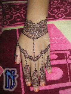 simpel henna by novi3a #henna #hennagorontalo #hennaindonesia