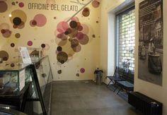 modern circles wall decor... bubbly!