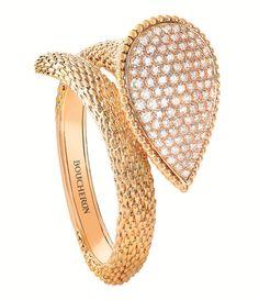 Le bracelet Serpent Bohème haute joaillerie de Boucheron