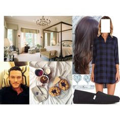 Having breakfast at Stafford House with Fred before the Asprey Class Cup by marywindsor on Polyvore featuring BB Dakota, Yasmine eslami, TOMS and Tiffany & Co.