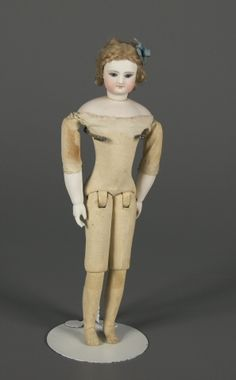 81.1082: French Fashion Doll | doll | Fashion Dolls | Dolls | National Museum of Play Online Collections | The Strong