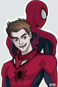 Amazing Spider-Man by LucianoVecchio.deviantart.com on @DeviantArt