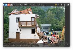 Hochwasserkatastrophe Bayern Juni 2016