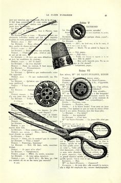 scissors, buttons, needles and thimbles  ...........................................................  Buy 2, get 1 FREE !  Make sure you don't put