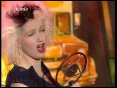 Cyndi Lauper - I Drove All Night 1989 live