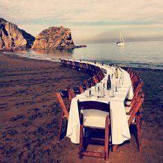 Beach wedding..