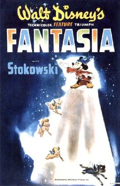 """I just finished watching Disney's """"Fantasia"""" (1940) this snowy afternoon with my girlfriend — she gave me the boxed set with """"Fantasia 2000"""" (1999) this Christma…"""