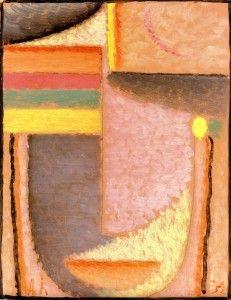 Abstract Head - by Alexei Jawlensky - 1932 9