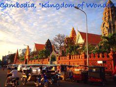 Cambodia: Kingdom of Wonder. #AIAVan #AICambodia