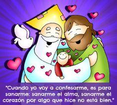 """""""El sacramento de la reconciliación es un sacramento de sanación."""" #PapaFrancisco"""