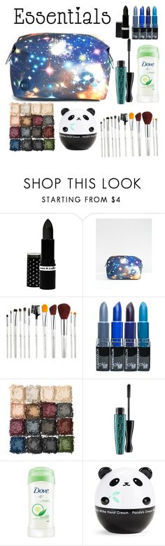 """Mhmm style essentials"" by that-shy-girl ❤ liked on Polyvore featuring beauty, Hard Candy, Mi-Pac, Ultimate, MAC Cosmetics, Dove, Tony Moly, contestentry, PVStyleInsiderContest and makeupbagstaples"