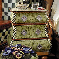 Furniture View All Whimsical Painted