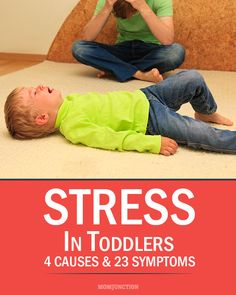 Toddler Stress Management :Are you suddenly noticing behavioral issues in your #toddler ? Your toddler's crankiness, learning difficulties and bedwetting habits can all be signs of his distress! Want to know how to help your precious toddler keep the stress at bay? Read on!