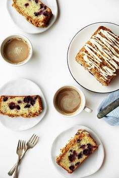 Lemon, Poppy Seed and Blueberry Streusel Pound Cake - The Candid Appetite