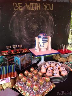 Tori Spelling's Star Wars Birthday Party For Liam   Pictures