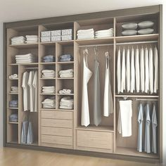 00 21 Crafty Closet Organization Ideas that We Have Ever Seen! This list of closet organization ideas is essentials for you. organizing a closet can seem like a handful task that no one ever sees. Wardrobe Design Bedroom, Master Bedroom Closet, Bedroom Wardrobe, Wardrobe Closet, Built In Wardrobe, Closet Wall, Bedroom Cupboard Designs, Bedroom Cupboards, Walk In Closet Design