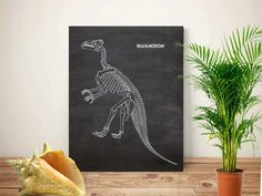 Shop for paris on Etsy, the place to express your creativity through the buying and selling of handmade and vintage goods. Dinosaur Prints, Chalkboard Print, Boy Rooms, Chalk Art, Dinosaurs, Art Inspo, Skeleton, Printables, Unique Jewelry