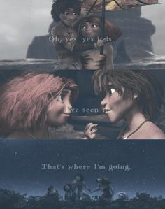 eep and guy, and the croods image