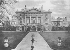 size: Photographic Print: White Lodge, the home of Queen Mary before her marriage, and the birthplace of Edward VIII, 1936 : Anmer Hall, Clarence House, Die Queen, Queen Mary, Buckingham Palace, Sandringham House, Prinz Andrew, Kensington, Edward Viii