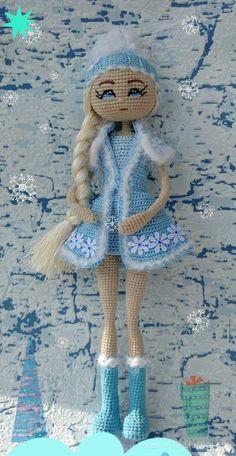 Crochet Bunny, Knit Or Crochet, Crochet Animals, Crochet Hats, Knitted Dolls, Crochet Dolls, Pet Toys, Doll Toys, Hello Dolly