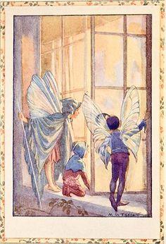 The Twilight Fairies - Flower Fairies book by Marion St John Webb, 1923  illus. by Margaret W. Tarrant