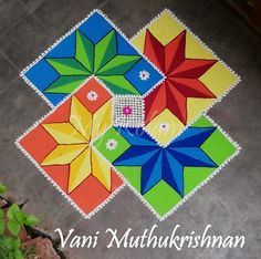 Rangoli Designs Simple Diwali, Rangoli Designs Latest, Rangoli Designs Flower, Free Hand Rangoli Design, Rangoli Border Designs, Small Rangoli Design, Rangoli Patterns, Rangoli Ideas, Rangoli Designs With Dots
