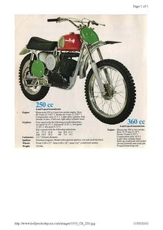 HUSQVARNA 250 1970 Adversiting