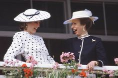 DAY AT THE RACES: 50 YEARS OF HATS & HORSES AROUND THE GLOBE - 1986: Princess Diana of Wales