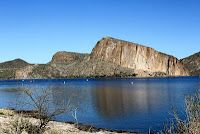Canyon Lake near Phoenix, AZ