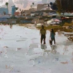 "Daily+Paintworks+-+""Juno""+-+Original+Fine+Art+for+Sale+-+©+Randall+Cogburn"