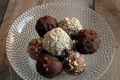 Τρουφάκια με τσουρέκι ⋆ Cook Eat Up! Kai, Chocolate Treats, Cake Cookies, Easy Desserts, Sweet Recipes, Muffin, Sweet Treats, Recipies, Sweets