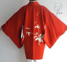 Boho Kimono, Silk Kimono, Kimono Cardigan, Kimono Jacket, Floral Kimono, Kimono Fashion, Short Kimono, Japanese Outfits, Japan Fashion