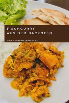 Indisches Fischcurry aus dem Backofen Garam Masala, Weeknight Meals, Easy Meals, Yummy Recipes, Yummy Food, Foodblogger, Tandoori Chicken, Japan, Cooking