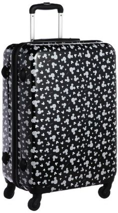 Mickey Mouse Suitcase from Evie and Riley Mickey Mouse Luggage, Disney Luggage, Mickey Minnie Mouse, Mickey Mouse Clothes, Cute Luggage, Kids Luggage, Luggage Sets, Travel Luggage, Disney Trips