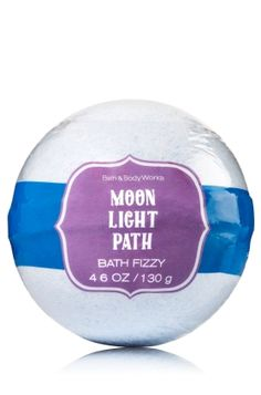 Moonlight Path - Bath Fizzy - Signature Collection - Bath & Body Works - Our NEW Bath Fizzy is the perfect way to pamper with fragrant bubbles that fizz & foam. Add to your bath for a burst of fragrance, color and fun!