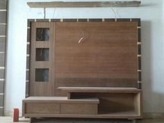 Lcd Unit Design, Lcd Wall Design, Tv Unit Decor, Tv Wall Decor, Wall Tv, Tv Unit Furniture Design, Bedroom Furniture Design, Tv Cupboard Design, Lcd Units