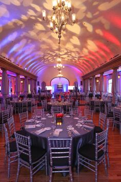 2015 Heart Gala at Cherokee Country Club. Fabric draping, design and rentals by our Event Designer, Gina Changas.